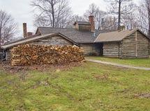 Jahrhundert-Dorf - Burton, Ohio Stockbild
