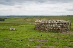 19. Jahrhundert gut bei Housesteads Roman Fort Stockfotografie