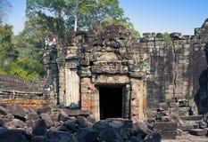 12. Jahrhundert Preah Khan Temple in Angkor Wat, Siem Reap, Kambodscha Stockfotografie