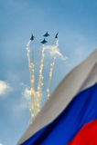 Jahrhundert-Russe-Luftwaffe Lizenzfreie Stockbilder