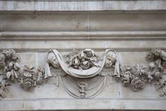18. Jahrhundert St. Paul Cathedral, Entlastung auf Fassade, London, Vereinigtes Königreich Stockfotos