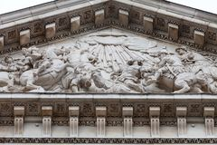 18. Jahrhundert St. Paul Cathedral, London, Vereinigtes Königreich Lizenzfreie Stockfotografie