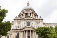 18. Jahrhundert St. Paul Cathedral, London, Vereinigtes Königreich Stockfotografie