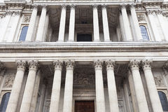 18. Jahrhundert St. Paul Cathedral, London, Vereinigtes Königreich Stockfoto