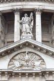 18. Jahrhundert St. Paul Cathedral, London, Vereinigtes Königreich Stockbilder