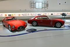 Jahrhundertausstellung Maserati-Berlinetta Pinin Farin- und Berlinetta- Zagato - Maserati- Lizenzfreie Stockfotos