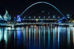 Jahrtausend-Brücke Stockfoto