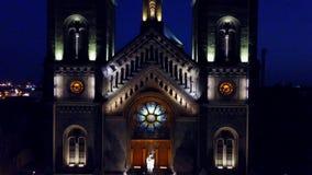 Jahrtausend-Kirche Timisoara, Rumänien stock footage