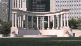Jahrtausend-Monument stock video footage