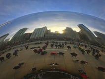 Jahrtausend-Park Bean Stockfotografie