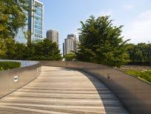 Jahrtausend-Park-Brücke, Chicago Lizenzfreie Stockbilder