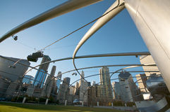 Jahrtausend-Park Chicago Lizenzfreies Stockbild