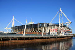 Jahrtausend-Stadion, Cardiff Lizenzfreies Stockfoto