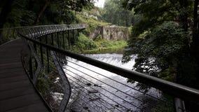 Jahrtausendbrücke lizenzfreie stockfotos