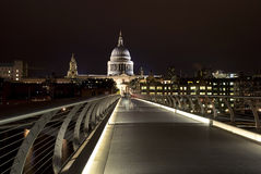 Jahrtausendbrücke, London Stockfotografie