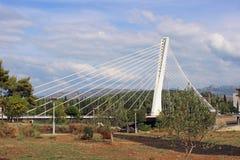 Jahrtausendbrücke in Podgorica Lizenzfreies Stockfoto