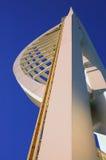Jahrtausendspinnaker-Kontrollturm in Portsmouth Lizenzfreies Stockfoto