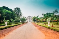 Jai维拉斯宫殿在瓜廖尔,印度 图库摄影