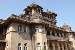 Jai jawhar的vilas宫殿,马哈拉施特拉,印度2017年12月24日 免版税库存照片
