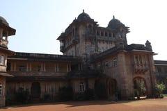 Jai jawhar的vilas宫殿,马哈拉施特拉,印度2017年12月24日 库存图片