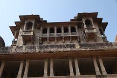 Jai jawhar的vilas宫殿,马哈拉施特拉,印度2017年12月24日 库存照片