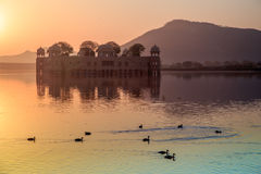 Jai Mahal Sunrise Royalty-vrije Stock Fotografie