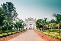 Jai Vilas Palace em Gwalior, Índia fotos de stock