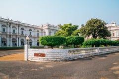 Jai Vilas Palace in Gwalior, Indien Stockbilder
