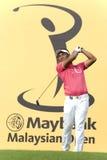 高尔夫球运动员jaidee专业泰国tongchai 库存照片