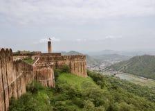 Jaigarghfort, Jaipur Royalty-vrije Stock Afbeelding