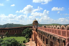Jaigarh Fort-2. Royaltyfria Foton