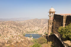 Jaigarh Fort, Amber, Rajasthan Royalty Free Stock Image