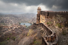 Jaigarh fort in India Stock Photo