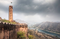 Jaigarh fort in India Royalty Free Stock Photo