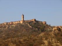 Jaigarh Fort, Jaipur, India. Jaigarh Fort located on hte peak of Aravalli range of hills, Jaipur, India Stock Photos