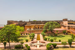 Jaigarh Fort in Jaipur India Royalty Free Stock Images
