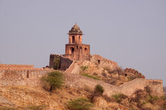 The Jaigarh Fort in Jaipur. The Jaigarh Fort near Jaipur is one of the most spectacular forts in India in Jaipur, Rajasthan, India Stock Photography