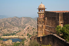 Jaigarh Fort and the surroundings Royalty Free Stock Photos