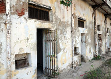Jail. Old police jail in India Royalty Free Stock Images