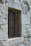 Jail Bar Window Cell. Royalty Free Stock Images