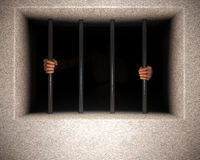 Jail bars Royalty Free Stock Images