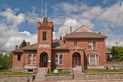 Jail Built in 1896 Stock Photos