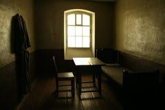 Jail cell. Cell in Oreshek castle (near, Saint Petersburg, Russia), near XVIII century Royalty Free Stock Image