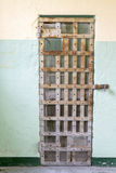 Jail Cell Door In A Prison Stock Images