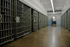 Jail Cell, Prison, Law Enforcement Stock Photo