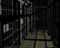 Jail Cell Prison Room Illustration Stock Images