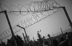 Jail fence Stock Images