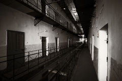 Jail interior Royalty Free Stock Images