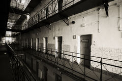 Jail interior Royalty Free Stock Photography