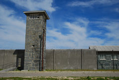 Jail of nelson mandela. Robben island prison, south africa Royalty Free Stock Photos